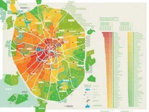 Стоимость жилья по районам в москве