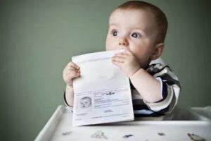 Если не прописать ребенка после рождения штраф