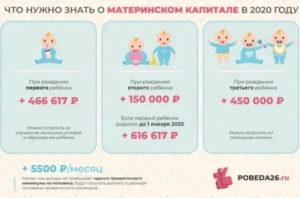 Срок Оформления Материнского Капитала После Рождения Ребенка 2020