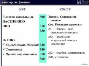 Кэк 290 расшифровка в бюджете 2020
