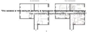 Если не узаконена перепланировка квартиры при продаже
