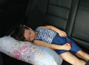 Штраф за непристегнутый ребенок в кресле