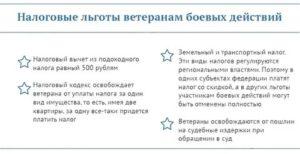 Налоговые льготы ветеранам боевых действий в свердловской области в 2019