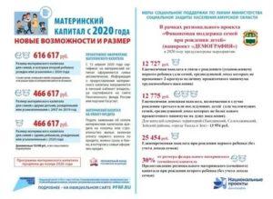 Дополнительные Выплаты К Материнскому Капиталу В 2020 Году