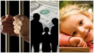 Как платятся алименты если отец в тюрьме