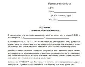Частная жалоба на определение об обеспечении иска о наложении ареста квартиры рк образец рк