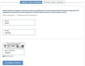Проверить готовность загранпаспорта на сайте уфмс спб