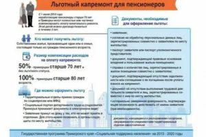 Льготы Пенсионерам В Красноярском Крае В 2020 Году