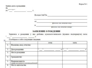 Какие Документы Нужны В Загсе При Регистрации Ребенка
