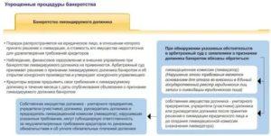 Банкротство по упрощенной процедуре ликвидируемого должника