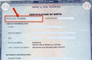 Где Номер Активной Записи В Свидетельстве О Рождении Где