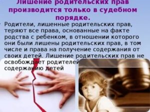 Лишение Свободы Матери Передача Ребенка На Воспитание Отцу