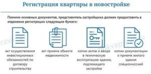 Какие нужны документы для прописки в новостройке