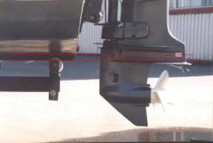 Как должен стоять мотор на пвх лодке