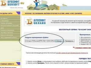 Онлайн проверка отчета в пфр бесплатно