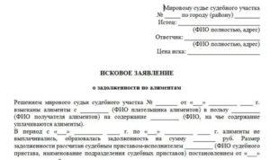 Заявление о снятии задолженности по алиментам