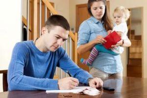 Развод с ипотекой и двумя детьми