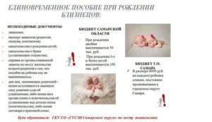 Выплаты При Рождении Двойни В 2020 В Москве