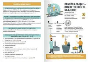 Инструктаж По Ответственности За Розничную Продажу Алкогольной Продукции Несовершеннолетним