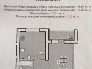 Холодные помещения не входят в общую площадь